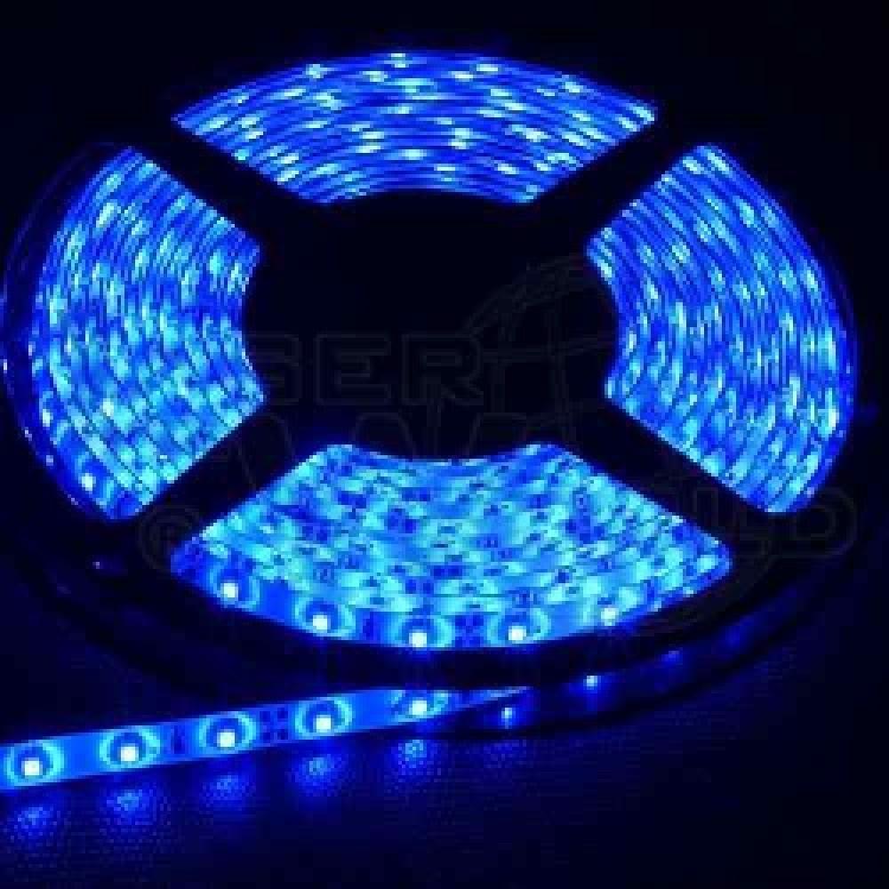 TIRA DE LED 3528 AZUL (BLUE) POR METRO (60 LED POR METRO)