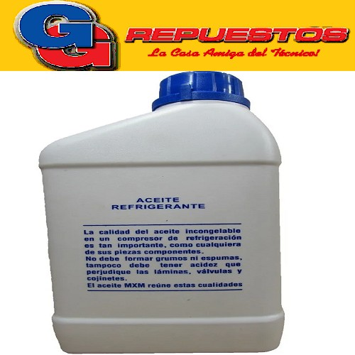 ACEITE REFRIGERANTE MXM OIL 5GS X 1 LT R12-R22