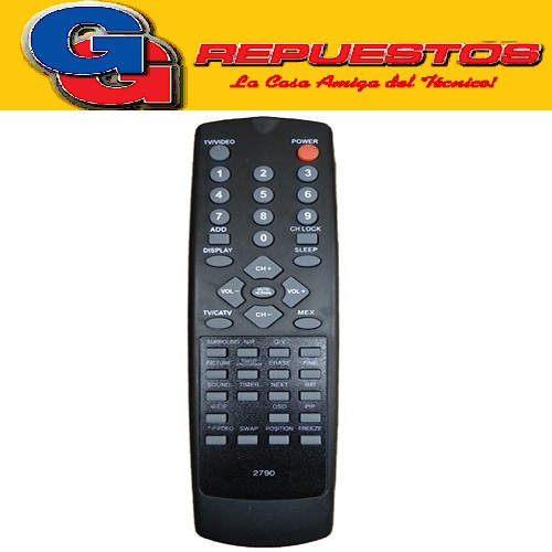 CONTROL REMOTO TV NOKIA (2790) CON PIP