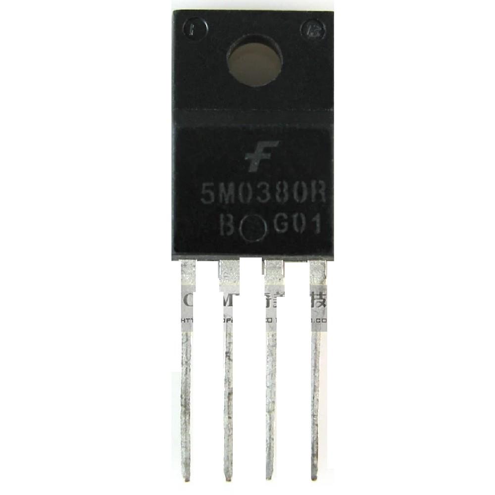 TRANSISTOR FET 5M0380AR 650V/3A