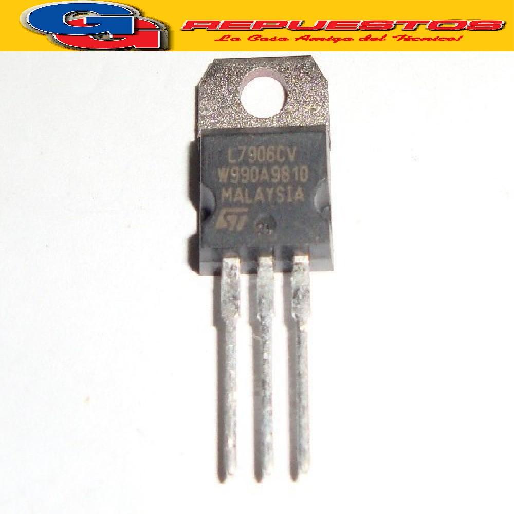 REGULADORES DE TENSION 7906P L7906 6V NEGATIVO L 7906CV