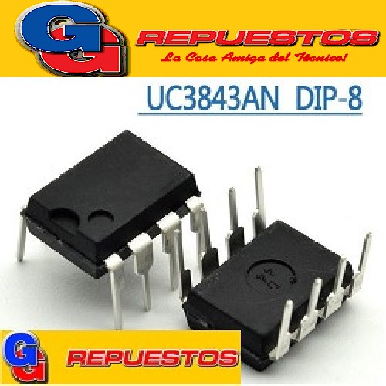 CIRCUITO INTEGRADO AP3843B CP CONTROL PWM DE ALTA PERFORMANCE AP 3843B º  =  UC 3843B ºC DIP-8