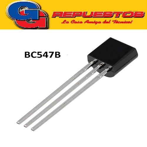 BC547B TRANSISTOR NPN 45V/0.1A/625mW