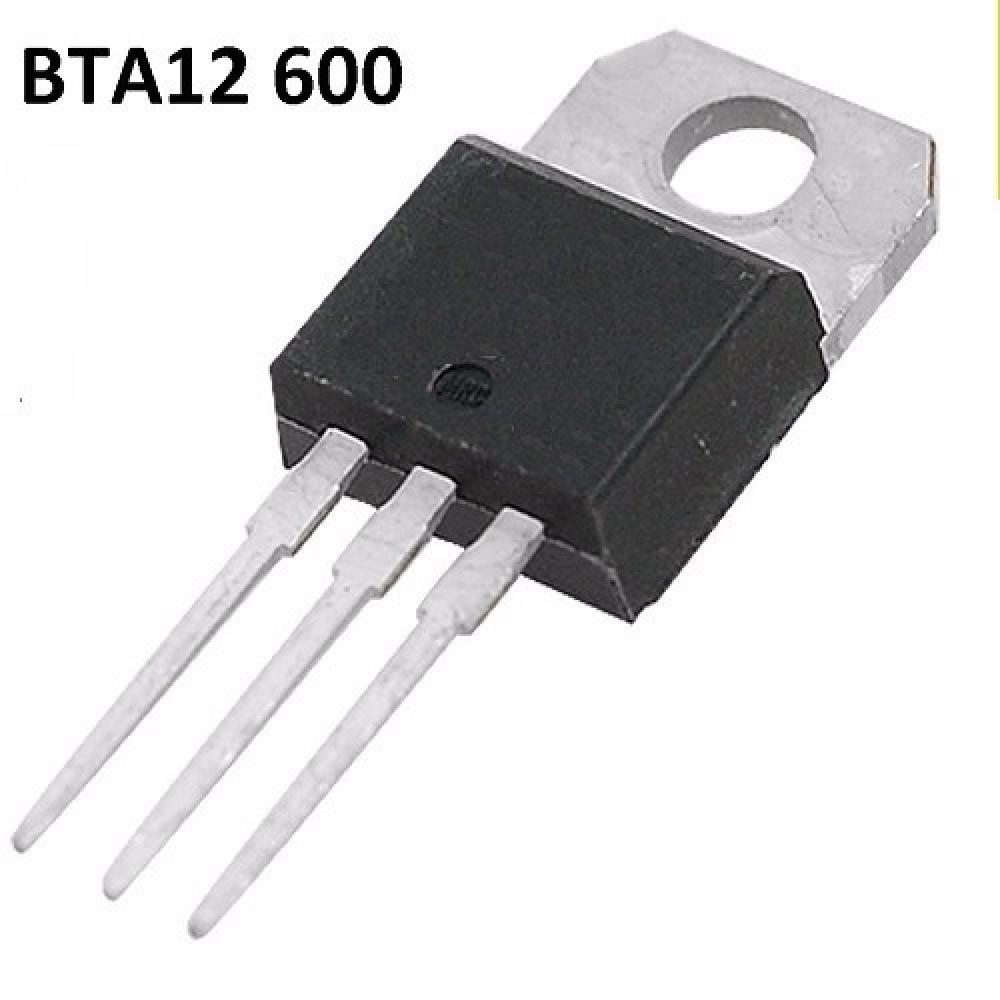 BTA12 600 / 600C / 600B TRIAC 600V/12A (IGUAL A BTB 12-600)