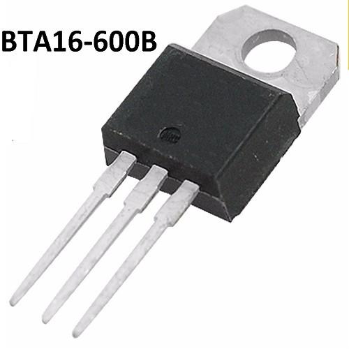 BTA16-600B / BTB 16-600B TRIAC (600V/16A/1W)