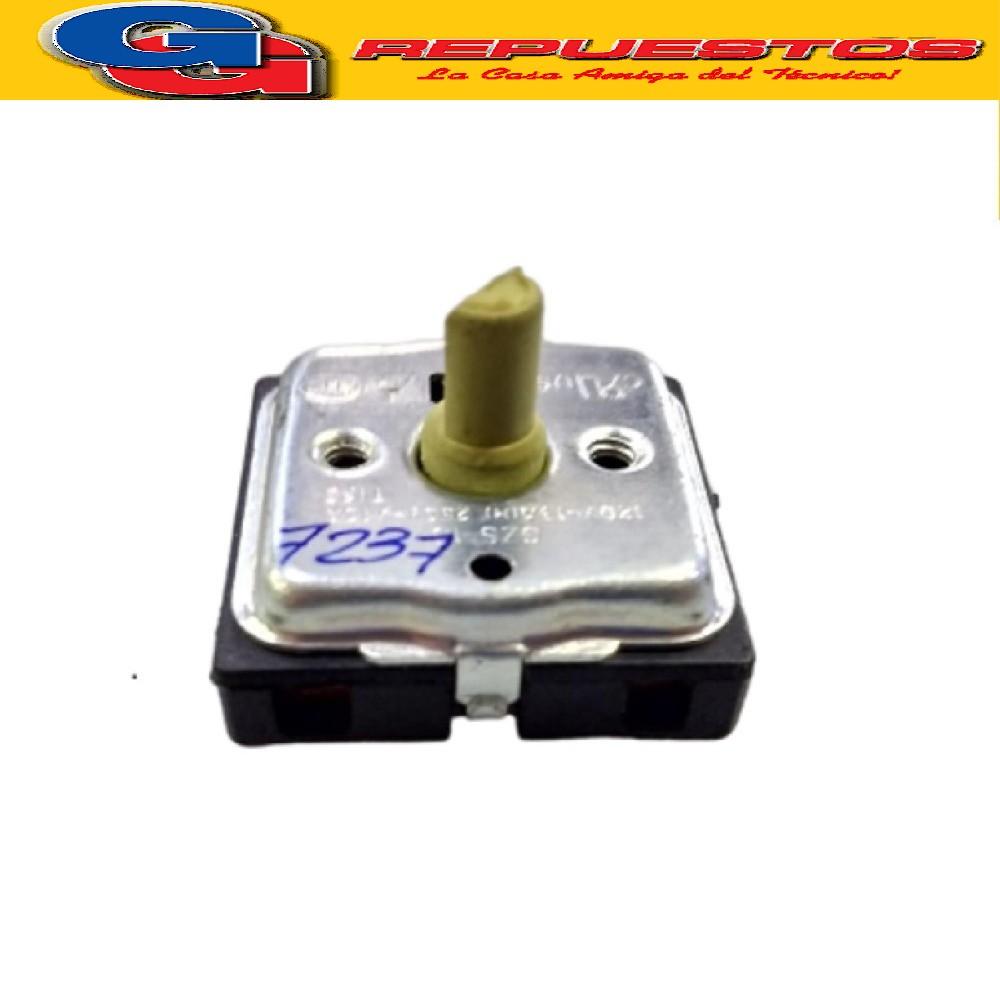 LLAVE SELECTORA PARA RESISTENCIA DE HORNO ELECTRICO VARIOS MODELOS 4 CONTACTOS 3 POSICIONES 120V-13A 250V-10A YONG JIANG