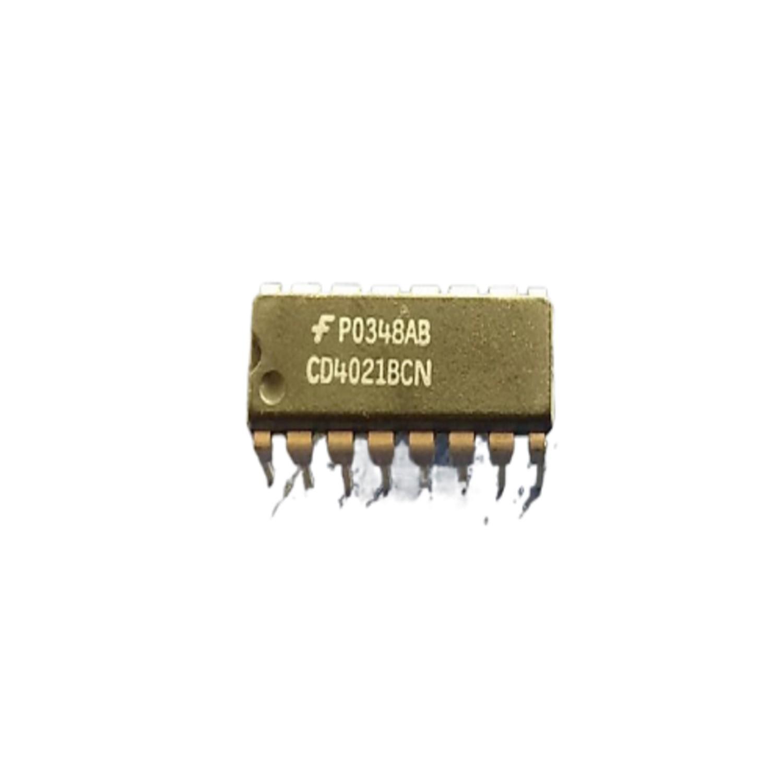 CIRCUITO INTEGRADO CD4021 Registro de desplazamiento estático CMOS de 8 etapas