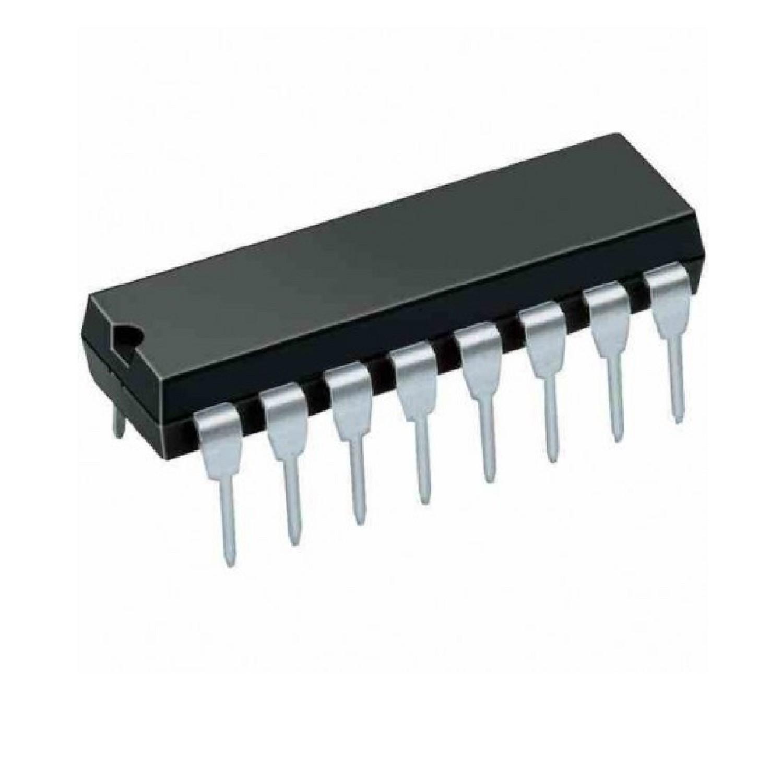 CIRCUITO INTEGRADO CD4520 DOBLE CONTADOR BINARIO SINCRONICO HD14520BP