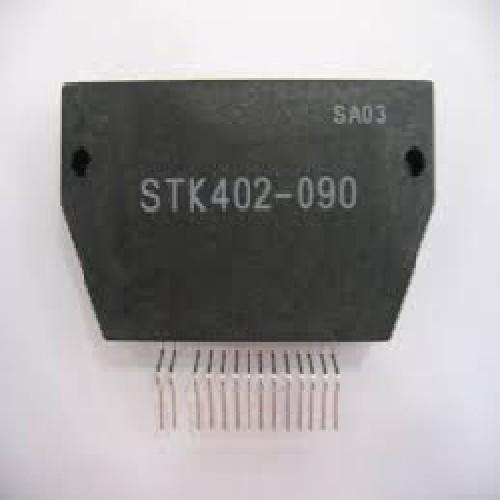 STK402-090 CIRCUITO INTEGRADO 2-Channel Class AB Audio Power Amp 2x 50W (±32V, 6ê) 14 PINES