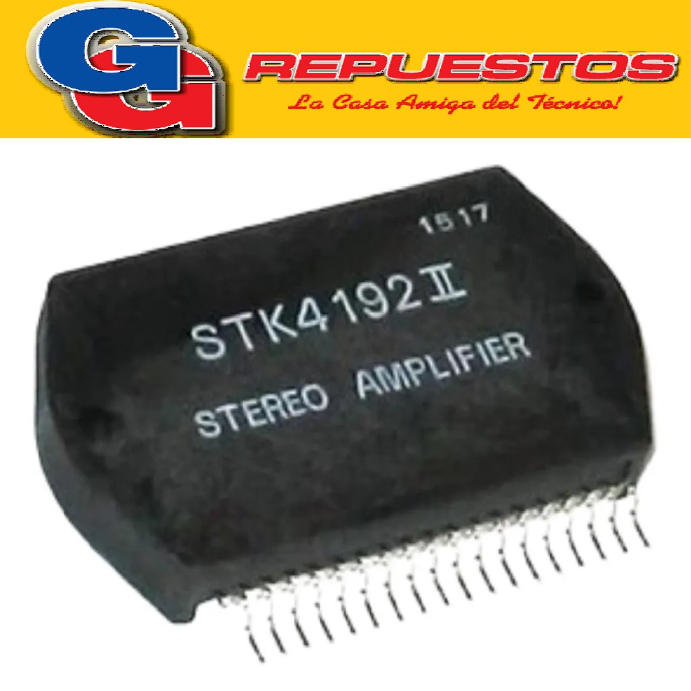 STK4192II CIRCUITOS INTEGRADO