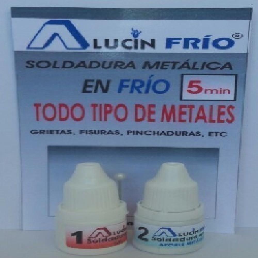 ALUCIN FRIO (soldadura en FRIO TODO TIPO DE METALES(fisuras, pinchaduras)