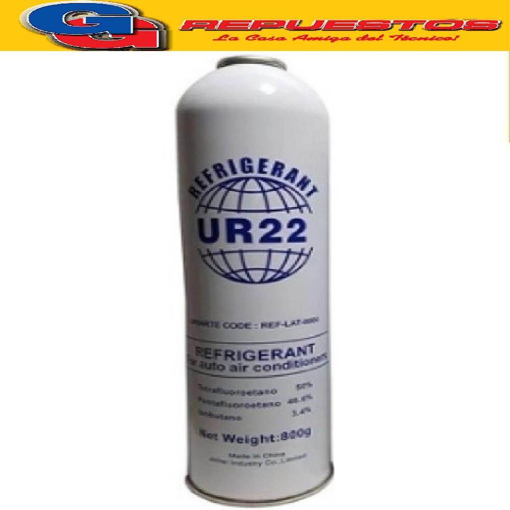 GAS Lata de 417 (UR22) x 800 grs REEMPLAZO DE R22