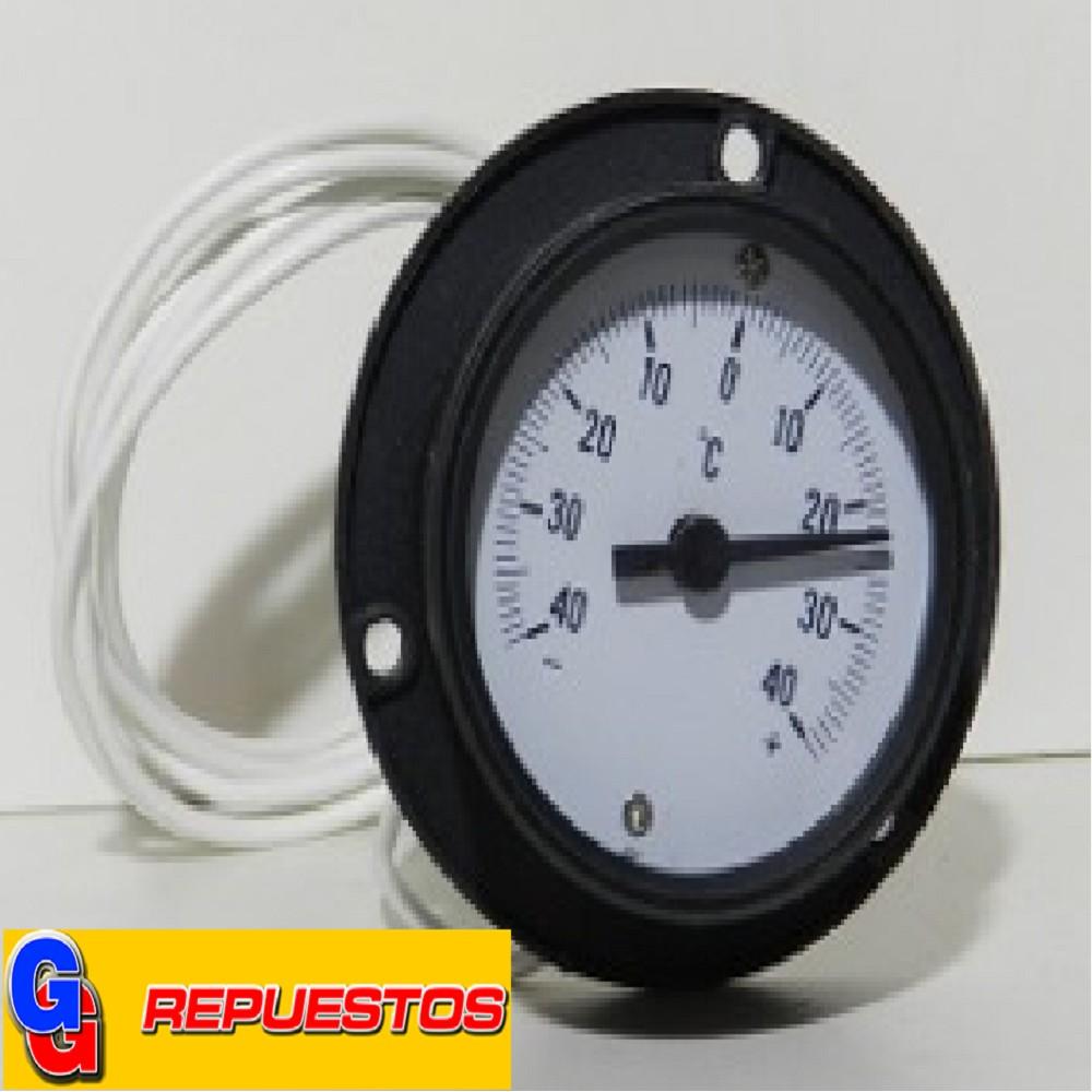 TERMOMETRO PARA TABLERO ANALOGICO 60MM LONG. 1.5M DISTANCIA:-40~+40ºC