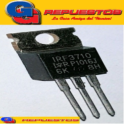 TRANSISTOR FET IRF3710  N-Channel Power MOSFET (Vdss=100V, Rds(on)=23mohm, Id=57A)