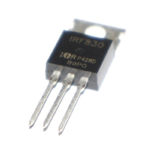 TRANSISTOR FET IRF830 N - CHANNEL 500V - 1.35ohm - 4.5A - TO-220 PowerMESH] MOSFET