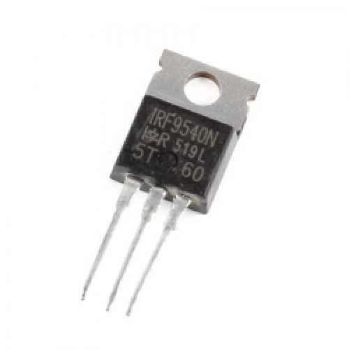 TRANSISTOR FET IRF 9540 19A, 100V, 0.200 Ohm, P-Channel Power MOSFET