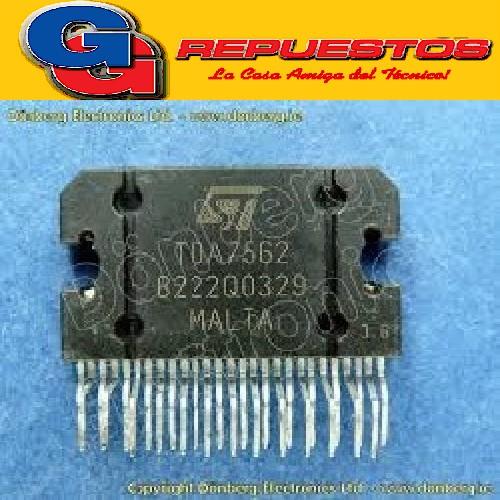 CIRCUITOS INTEGRADOS TDA 07562 4X25W MULTIFUNCTION QUAD POWER AMPLIFIER 27 PIN
