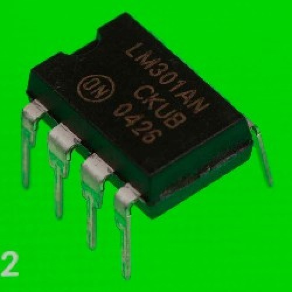 LM301AN CIRCUITOS INTEGRADOS -DIP8-  SINGLE OPERATIONAL AMPLIFIER