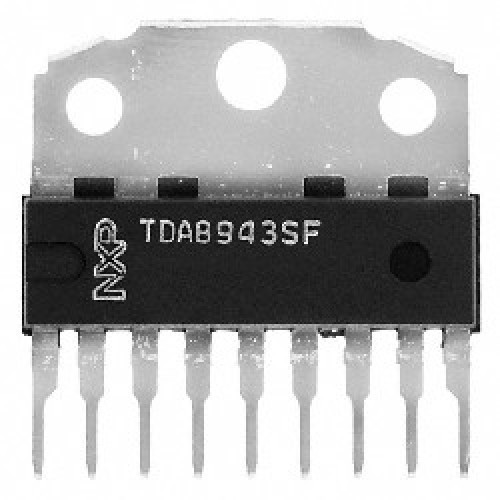 CIRCUITOS INTEGRADOS TDA8943 SF 6W  8OHM ALIMENTACION 12V  6 W mono Bridge Tied Load BTL audio amplifier
