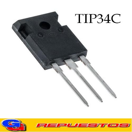 TIP34C TRANSISTOR POWER TRANSISTORS (10A,40-100V,80W)