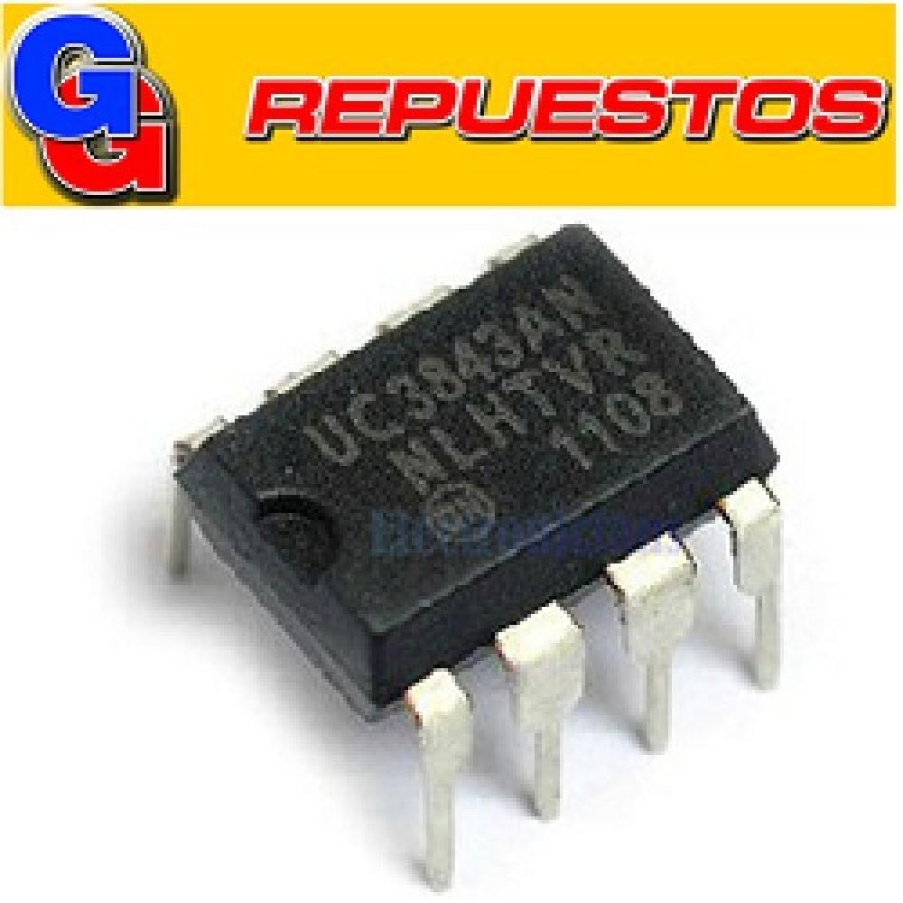 CIRCUITOS INTEGRADOS UC3843AN  DIP 8 = AP3843