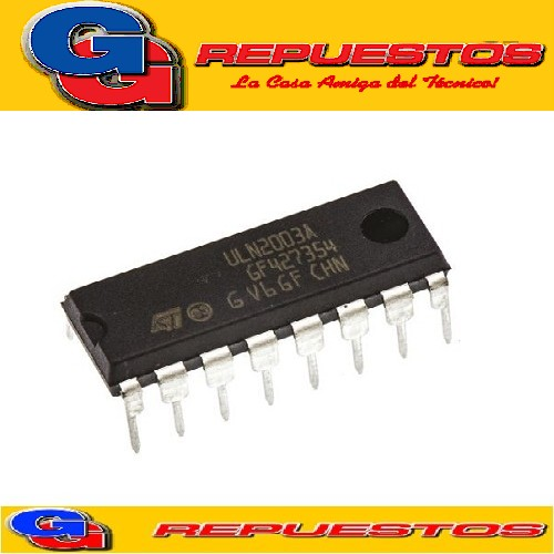 ULN2003 / 2003A DIP-16 CIRCUITO INTEGRADO DARLINGTON 50V / 500MA