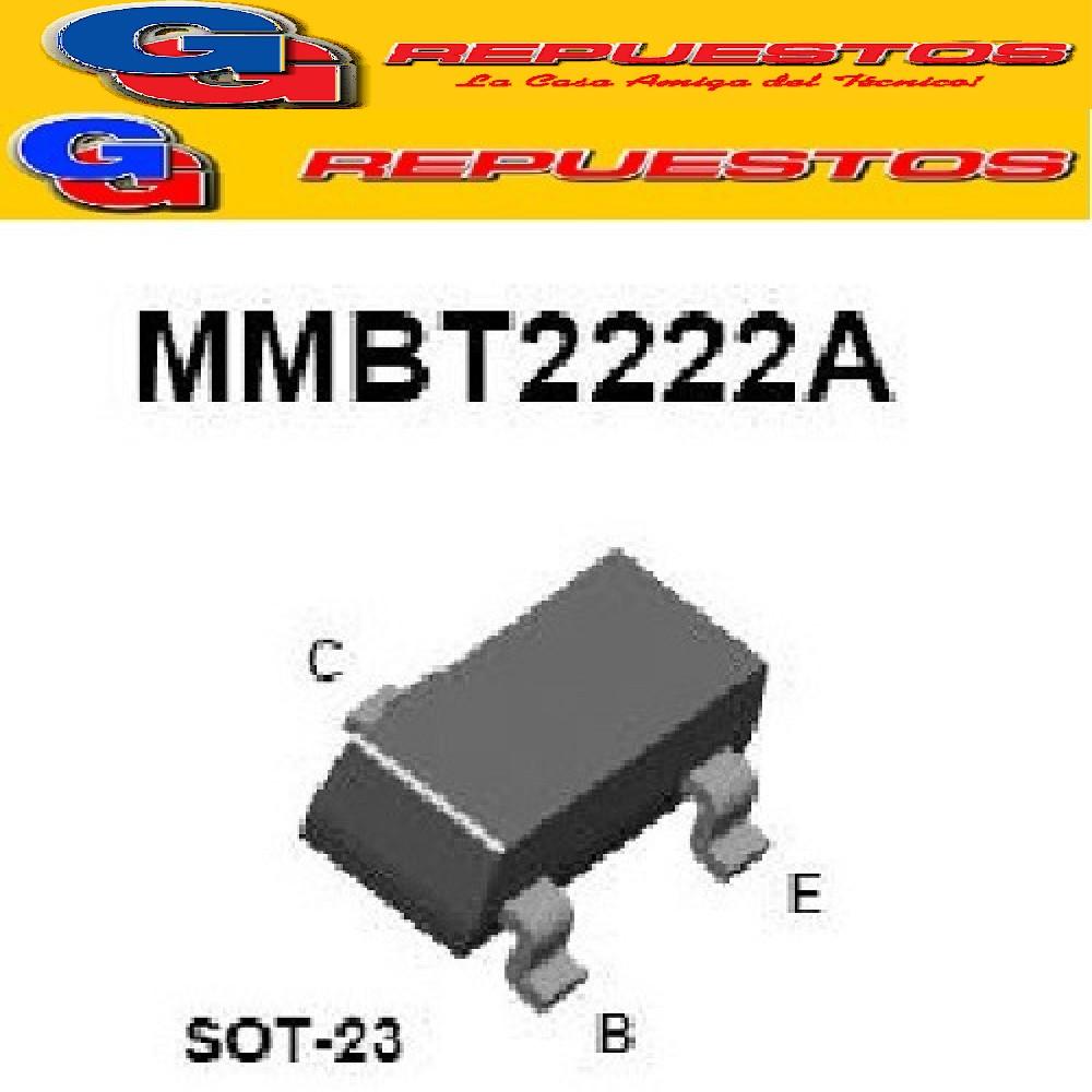 TRANSISTOR MMBT2222A SMD NPN