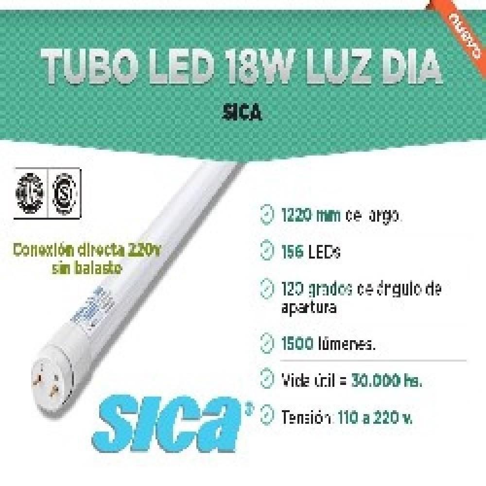 TUBO LED 1200mm 16/18W  BLANCO FRIO