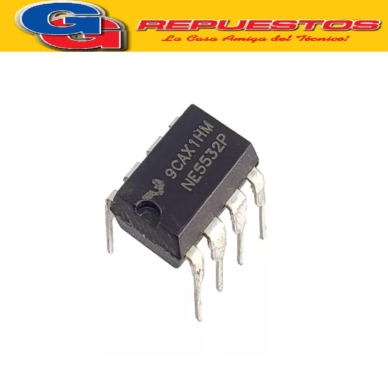CIRCUITOS INTEGRADOS NE5532P RC5532
