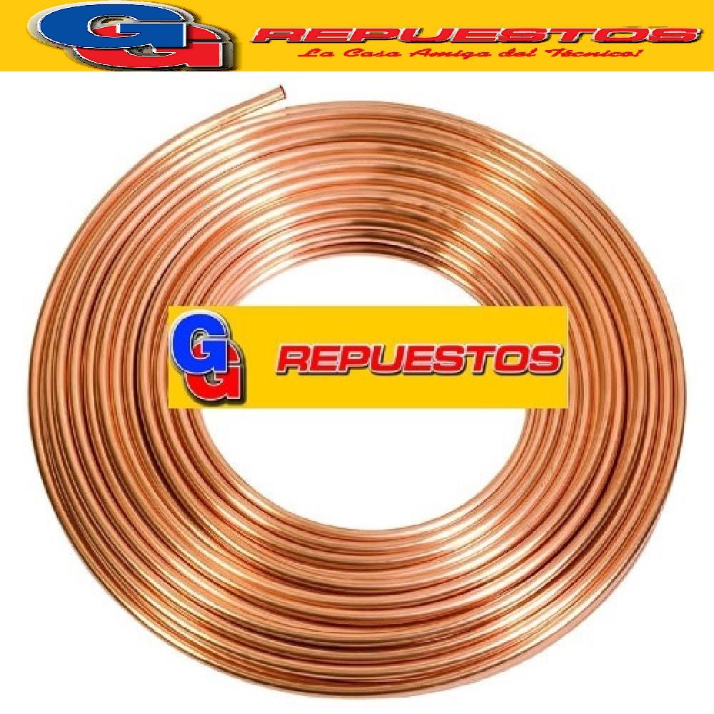 ROLLO CAÑO DE COBRE 3/16 45 MTS--0.080 kg/m PARED 0.8 mm ELUMA 4.05 KG